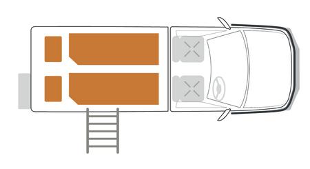 Single Cab: Nacht-Layout
