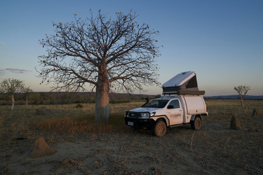 Single Cab 4WD Camper
