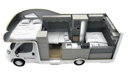 Cruisin Deluxe Motorhome (Nacht-Layout)