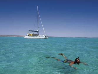 Am Ningaloo Reef