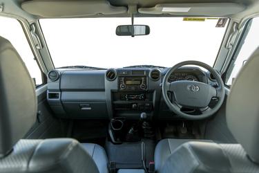Fahrer- und Beifahrersitz