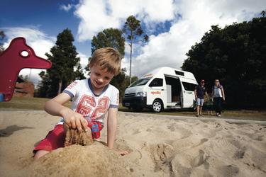 Campingurlaub mit Kindern