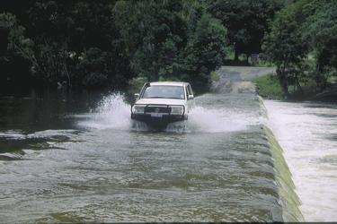 Bloomfield River Flussüberquerung