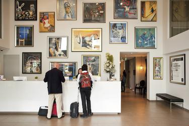 Foyer und Rezeption