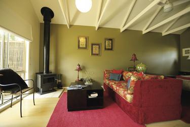 Wohnbereich im Spa Cottage
