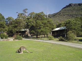 Cottages im Resort