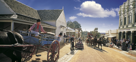 Sovereign Hill Freilichtmuseum, ©Image_ Sovereign Hill