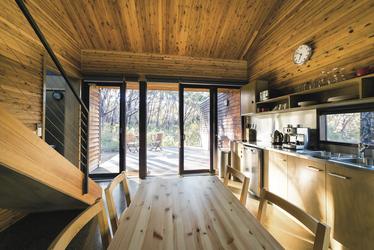 Treehouse - Küche im Erdgeschoss, ©Marty Schoo
