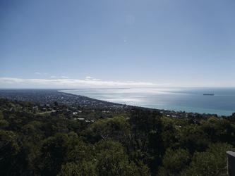 Blick auf die Port Phillip Bay