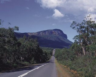 Fahrt in den Grampians Nationalpark