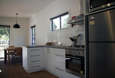 Küche im 2 Schlafzimmer Apartment
