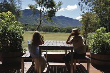 Veranda des Safari Tent