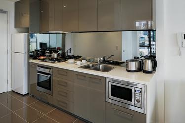 Küche in einem 2 SZ Apartment (Beispiel)