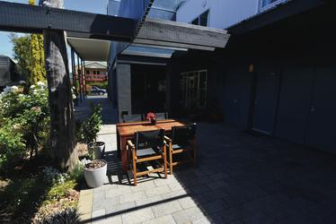 Innenhof für die Gäste