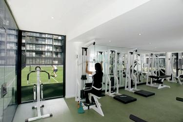 Fitnessraum für die Gäste