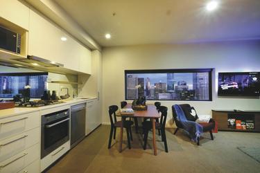 2 SZ Apartment, Wohnbeispiel