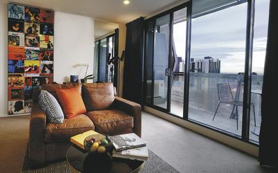 1 SZ Apartment, Wohnbeispiel