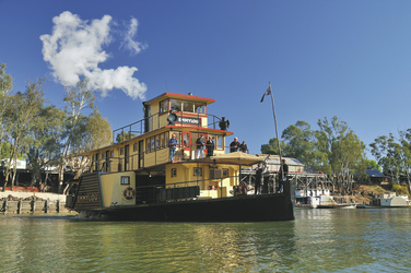 PS Emmylou in Echuca