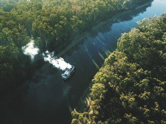 Unterwegs auf dem Murray River