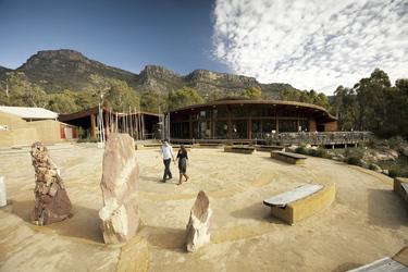 Brambuk Aboriginal Cultural Centre ©Robert Blackburn