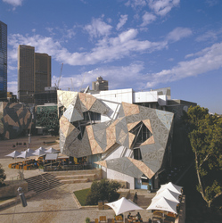 Kunstwerk am Federation Square