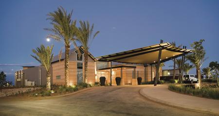 Eingang zum Resort