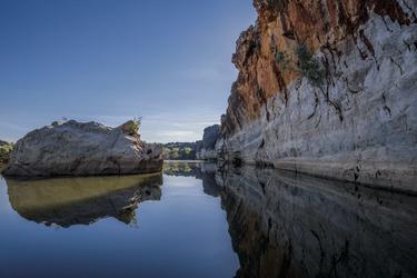 Optional: Bootsfahrt durch die Geikie Gorge