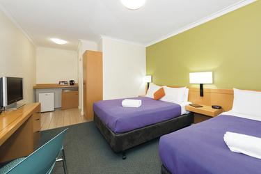 Zimmer wahlweise mit Einzelbetten (Standard Twin)