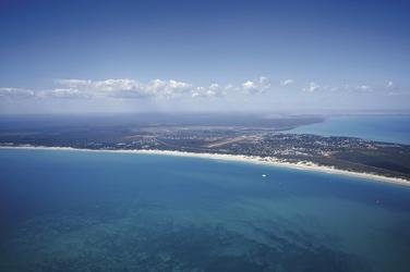 Blick auf Broome und Cable Beach