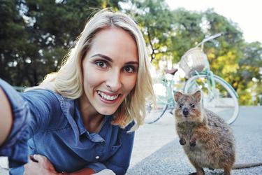 Rottnest Selfie , ©Tourism Western Australia