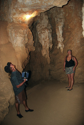 Crystal Cave in Tunnel Creek