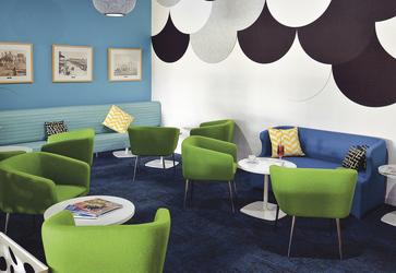 Lounge für die Gäste