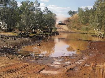 Durack River, Gibb River Road, ©Bernd Roesner