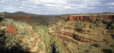 Blick in die Dales Gorge