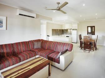Wohnraum, 2 Schlafzimmer Apartment
