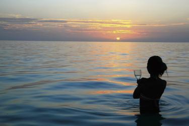 Bedwell Island Sonnenuntergang