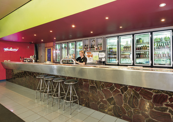 Bar im Ibis Styles Port Hedland