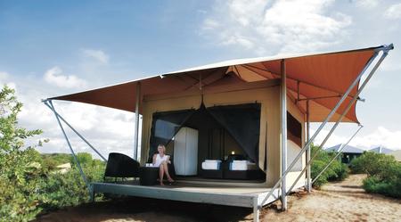 Alle Eco Zelt mit kleiner Veranda