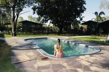 Swimmingpool für Gäste, ©Ben Knapinski - bjk.com.au