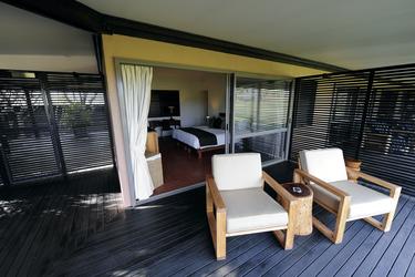 Gartenblick-Zimmer im Homestead