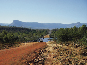 Gibb River Road und Cockburn Range