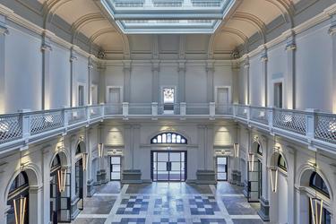 Blick in die Postal Hall