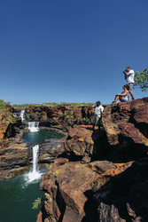 Mitchell Falls , © Steve StrikenStock Library Photo from Outback Photographics NT ©nUnauthorised publication of this image is prohibited.nFor publication / reproduction rights please contact Steve Strike on +61 8 89523559 or email info@photoz.com.au
