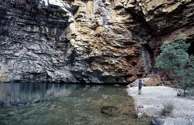 Am Ende der Emma Gorge