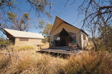 Superior-Zelte im Piccaninny Camp