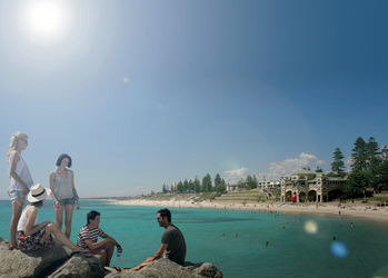 Cottesloe Beach bei Perth