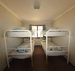 Stockbetten im 2. Schlafzimmer