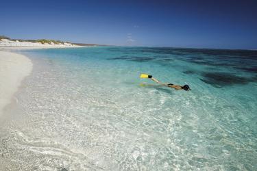 Schnorchler am Ningaloo Reef, ©Australia´s Coral Coast