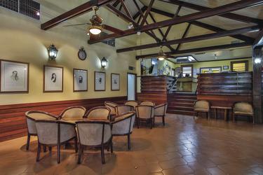 Lobby im Kimberley Hotel
