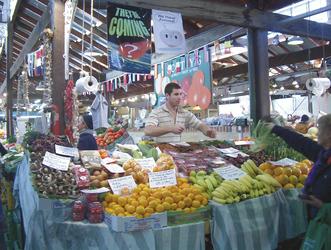 Markt in Fremantle